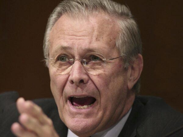 Murió el exsecretario de Defensa de EEUU Donald Rumsfeld